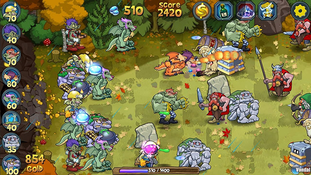 Тролли против викингов (Trolls vs Vikings) для Lumia